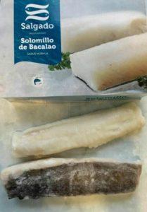 Solomillo de bacalao Salgado Congelados